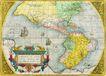 古老的地图0020,古老的地图,静物,古老 地图 美洲