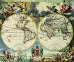 古老的地图0022,古老的地图,静物,揭开 神秘 面纱