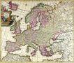 古老的地图0032,古老的地图,静物,欧洲地图 西方国家 老地图