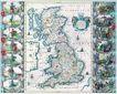 古老的地图0037,古老的地图,静物,英国 英吉利海峡 日不落帝国