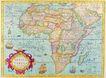 古老的地图0040,古老的地图,静物,非洲大陆 分割版图
