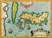 古老的地图0049,古老的地图,静物,详细的地图