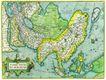 古老的地图0054,古老的地图,静物,星球 国家 图纸