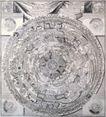 古老的地图0056,古老的地图,静物,软盘 圆形 纹理