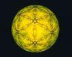 神奇球体0057,神奇球体,静物,原子 图饰 足球