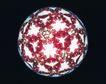神奇球体0074,神奇球体,静物,球心 发出 光芒