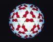 神奇球体0077,神奇球体,静物,球表 贴满 红豆