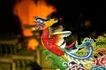 东方民俗庙宇0007,东方民俗庙宇,文化,凤凰 红色 脖颈
