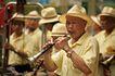 东方民俗庙宇0029,东方民俗庙宇,文化,吹喇叭 乐队 乐器