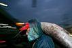 台湾生命力0020,台湾生命力,文化,渔民 穿戴 雨衣