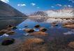 西藏风光0005,西藏风光,文化,河滩 突起 暗礁