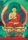 西藏风光0034,西藏风光,文化,释加牟尼 佛陀 壁画