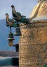 西藏风光0039,西藏风光,文化,藏庙 屋檐 吊铃