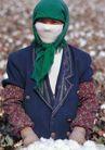 西藏风光0044,西藏风光,文化,妇女 棉花 戴口罩