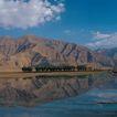 西藏风光0050,西藏风光,文化,蓝天 湖面 一座山