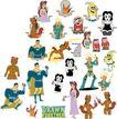 全球电视卡通形象矢量LOGO0148,全球电视卡通形象矢量LOGO,LOGO专辑,