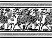 元明时代1350,元明时代,中国古图案,