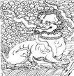元明时代1353,元明时代,中国古图案,