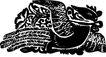 元明时代1355,元明时代,中国古图案,