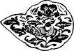 元明时代1357,元明时代,中国古图案,