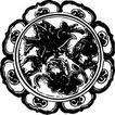 元明时代1361,元明时代,中国古图案,