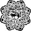 元明时代1363,元明时代,中国古图案,