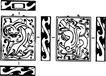 元明时代1365,元明时代,中国古图案,