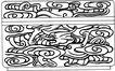 元明时代1377,元明时代,中国古图案,