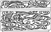 元明时代1378,元明时代,中国古图案,