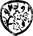 元明时代1380,元明时代,中国古图案,