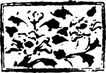 元明时代1381,元明时代,中国古图案,