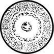 元明时代1395,元明时代,中国古图案,