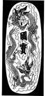 元明时代1397,元明时代,中国古图案,