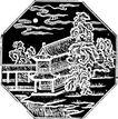 清代0004,清代,中国古图案,自然景观 建筑 云朵