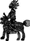 清代1532,清代,中国古图案,