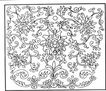 清代1642,清代,中国古图案,