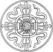 清代1644,清代,中国古图案,