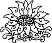 清代1662,清代,中国古图案,