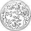 清代1669,清代,中国古图案,