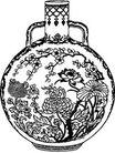 清代1676,清代,中国古图案,