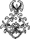 清代1679,清代,中国古图案,