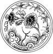 清代1686,清代,中国古图案,