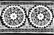 清代2660,清代,中国古图案,