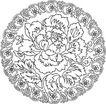 清代2711,清代,中国古图案,