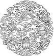 近代1264,近代,中国古图案,