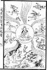宗教0219,宗教,古板画,
