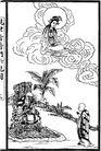 宗教0225,宗教,古板画,