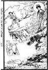 宗教0243,宗教,古板画,