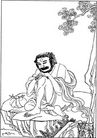 宗教0255,宗教,古板画,