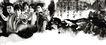 专辑Ⅱ0192,专辑Ⅱ,设计密码,黑白画 人物 壁画